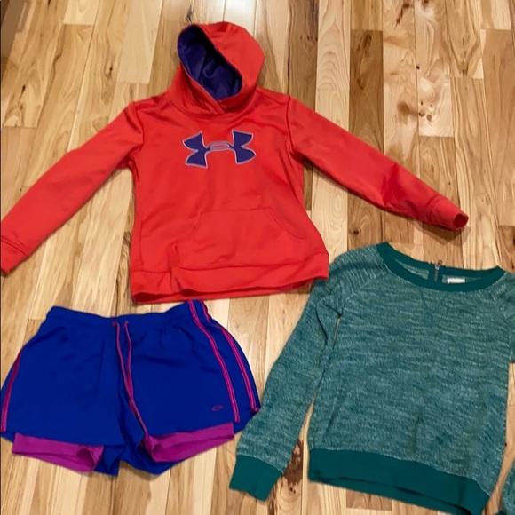 Bundle - hoodie and shorts